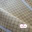 ผ้าทอญี่ปุ่น 1/4ม.(50x55ซม.) ลายตารางสีเหลืองน้ำตาล thumbnail 3