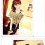 เสื้อยืดแฟชั่นเกาหลี ต้อนรับลมทะเลด้วยเสื้อผูกเอว สวมใส่สบายรับลมเย็นๆ thumbnail 4