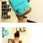 กระเป๋าเป้ทรงสวยๆ ตัดกับหนังสีน้ำตาล สีสวยไม่ตกเทรนด์ thumbnail 4