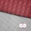 ผ้าทอญี่ปุ่น 1/4ม.(50x55ซม.) สีเทาเข้ม เล่นลายด้าย thumbnail 2