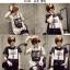 เสื้อยืดแฟชั่นสำหรับสาวๆ ผ้านิ่ม มีลายให้เลือกมากมาย และหลายขนาด SET3 thumbnail 4