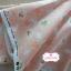 ผ้าคอตตอนญี่ปุ่น 100% 1/4ม.(50x55ซม.) พื้นสีโอรส ลายดอกไม้และกระต่ายน้อยสีขาว thumbnail 2