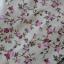 ผ้าคอตตอนไทย 100% 1/4 ม.(50x55ซม.) ลายดอกไม้ พื้นสีเหลืองอ่อน thumbnail 1