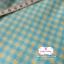 ผ้าคอตตอนลินิน 1/4ม.(50x55ซม.) ลายตารางสีฟ้า thumbnail 3