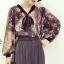 เสื้อแฟชั่นแขนยาว สไตล์สาวเกาหลี ผ้าโปร่ง นิ่ม เบาสบาย น่าสวมใส่รับหน้าร้อนเมืองไทย thumbnail 9
