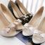 รองเท้าคัทชูแฟชั่น ทรงสวย สูงกำกลังดี ใส่ไม่เมื่อยเท้า มีให้เลือกถึง 4 สี thumbnail 24