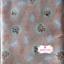 ผ้าคอตตอนญี่ปุ่น 100% 1/4ม.(50x55ซม.) พื้นสีโอรส ลายดอกไม้และกระต่ายน้อยสีขาว thumbnail 5
