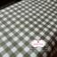 ผ้าคอตตอนลินิน 1/4ม.(50x55ซม.) ลายตารางสีเขียวขี้ม้า thumbnail 2