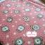 ผ้าคอตตอนเกาหลีแท้ 100% 1/4 เมตร (50x55 cm.) พื้นสีชมพูโอรส ลายนาฬิกาคลาสสิค thumbnail 1