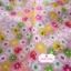 ผ้าคอตตอนไทย 100% 1/4 ม.(50x55ซม.) พื้นสีชมพูโอรส ลายดอกไม้ thumbnail 5
