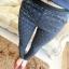 กางเกงขายาวแฟชั่นใส่สบายด้วยเอวยางยืด ลวดลายสดใสด้วยจุดเล็กๆ thumbnail 15