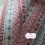 ผ้าแคนวาสญี่ปุ่น 100% 1/4 ม.(50x55ซม.) โทนสีแดง ลายดอกไม้ thumbnail 2