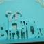 A54 การ์ดป๊อปอัพไดคัท Happy Birthday 2 ปกสีเงิน thumbnail 4