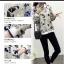 เสื้อกันหนาวแฟชั่น คอกลม ขนาดกำลังดี สกรีนลายสวยๆ น่าใส่มากค่ะ thumbnail 6