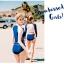 ชุดว่ายน้ำแขนยาวแฟชั่น มี 2 สไตล์ให้เลือก ทั้งแบบ2 ชิ้น และ 3 ชิ้น thumbnail 33