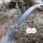 ริบบิ้นผ้า พื้นสีฟ้า ลายจุดสีขาว กว้าง 1 ซม. แบ่งขายเป็นหลา thumbnail 2