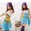 co010 ชุดแฟนซี ชุดสาวยิปซี ยิปซีฮิบปี้แสนสวย สีสันสดใสค่ะ thumbnail 1