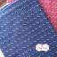 ผ้าทอญี่ปุ่น 1/4ม.(50x55ซม.) สีน้ำเงินเข้ม ทอลายเครืองหมายบวกเล็กๆ thumbnail 3