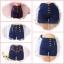 กางเกงยีนส์ขาสั้นเอวสูง มีให้เลือกหลายทรง เลือกใส่แบบไหนก็ดูสวยคร่าาา ชุด 2 thumbnail 1