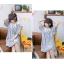 เดรสแฟชั่นชุดกลาสี สไตล์สาวญี่ปุ่น แต่งปกเสื้อ น่ารักสมวัยใสๆ thumbnail 13