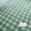 ผ้าคอตตอนลินิน 1/4ม.(50x55ซม.) ลายตารางสีเขียว thumbnail 1