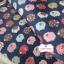 ผ้าคอตตอนลินิน 1/4ม.(50x55ซม.) พื้นสีน้ำเงิน ลายแกะน้อย thumbnail 4