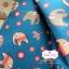 ผ้าคอตตอน 100% 1/4 ม.(50x55ซม.) พื้นสีฟ้า ลายช้าง thumbnail 1