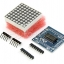 MAX7219 dot matrix module microcontroller module for arduino display module thumbnail 3