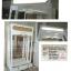 ตู้โชวโล่งทะลุ 4 ด้านวินเทจ สีขาว สำหรับบ้านเเละร้านค้า thumbnail 5