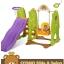 สินค้าเลิกจำหน่าย ถาวร ชิงช้า สไลเดอร์ เกาหลี Yaya CCOMO Slide & Swing สีเขียว thumbnail 2