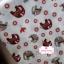 ผ้าคอตตอน 100% 1/4 ม.(50x55ซม.) พื้นสีครีม ลายช้าง thumbnail 2