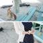 ชุดว่ายน้ำวันพีช ลายขวางเส้นเล็กๆ ช่วยเน้นให้สาวๆ ดูมีสัดส่วนที่ดีขึ้น thumbnail 4