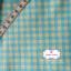 ผ้าคอตตอนลินิน 1/4ม.(50x55ซม.) ลายตารางสีฟ้า thumbnail 2