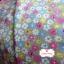 ผ้าคอตตอนไทย 100% 1/4 ม.(50x55ซม.) ลายดอกไม้ พื้นสีเทา thumbnail 1