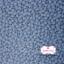 ผ้าคอตตอนไทย 100% 1/4 ม.(50x55ซม.) พื้นสีฟ้า ลายดอกบ๊วย thumbnail 2