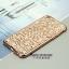 Case iphone 6 Plus / 6s Plus (TPU Case) สี Rose Gold ประดับลายทันสมัยและฝังเพชร thumbnail 1