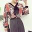 เสื้อแฟชั่นแขนยาว สไตล์สาวเกาหลี ผ้าโปร่ง นิ่ม เบาสบาย น่าสวมใส่รับหน้าร้อนเมืองไทย thumbnail 10