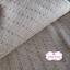ผ้าทอญี่ปุ่น 1/4ม.(50x55ซม.) สีครีม เล่นลายเส้นด้าย thumbnail 1