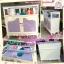 ตู้โชว์จิวเเละเครื่องสำอางค์วินเทจสีขาวสำหรับร้านค้า thumbnail 1