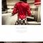 ชุดเสื้อและกระโปรง ต้อนรับหน้าร้อนด้วยสีแดงจี๊ดๆ แขน 3 ส่วน เข้ากับกระโปรงลายน่ารักๆ thumbnail 5