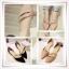 รองเท้าสุภาพสตรีทรงเก๋ๆ หนังมันวาวสีสวย มีนส้นเล็กๆ ให้สาวๆ ได้ใส่สบายๆ เดินช็อปแบบชิลๆ thumbnail 1
