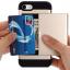 เคสไอโฟน 7 (Silicone Case Inside and Aluminium Outside) Mutifunction เก็บนามบัตรได้ สีทอง thumbnail 1
