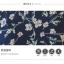 เดรสแฟชั่น ลายดอกสวย ตกแต่งเพิ่มความเซ็กซี่ด้วยผ้าซีทรูสีดำ thumbnail 7