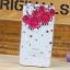 เคสไอโฟน4/4s (Case Iphone 4/4s) กรอบโปร่งใสประดับเพชรมุก รูปหัวมิกกี้เม้าส์สีชมพู thumbnail 1