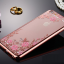 เคสไอโฟน 7 (TPU CASE) Rose Gold Pink Flower thumbnail 2
