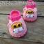 รองเท้าเสือสีชมพู ขนาด 3-6 เดือน thumbnail 1