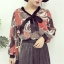 เสื้อแฟชั่นแขนยาว สไตล์สาวเกาหลี ผ้าโปร่ง นิ่ม เบาสบาย น่าสวมใส่รับหน้าร้อนเมืองไทย thumbnail 7