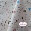 ผ้าคอตตอนไทย 100% 1/4 ม.(50x55ซม.) พื้นสีครีม ลายABC thumbnail 1