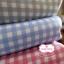 ผ้าคอตตอนไทย 100% 1/4 ม.(50x55ซม.) ลายตารางโทนสีฟ้า thumbnail 3