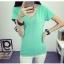 เสื้อยืดคอวีสีสันสวยๆ ใส่ได้ทุกยุค ทุกสมัยแฟชั่น มีให้เลือกสีกันอย่างจุใจ thumbnail 25